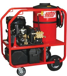 Hotsy Gas Engine Series Hot Water Pressure Washers