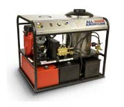 The Premier Series Hot Water Pressure Washers