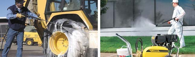Steam cleaners for industrial use - American Water Works